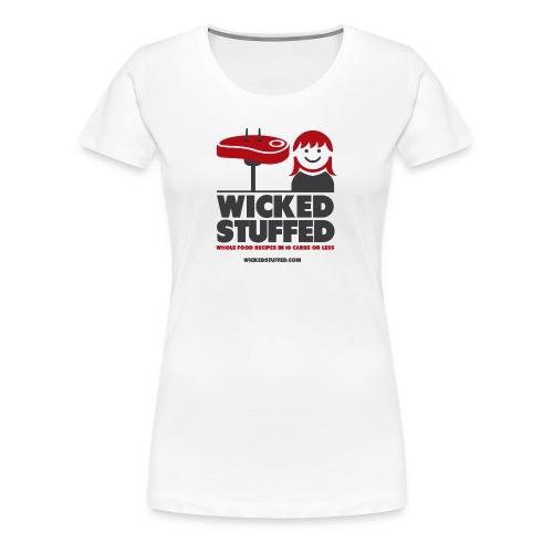 Gal's WickedStuffed Logo Tee - Women's Premium T-Shirt