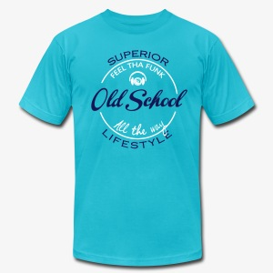 old school style - Men's T-Shirt by American Apparel