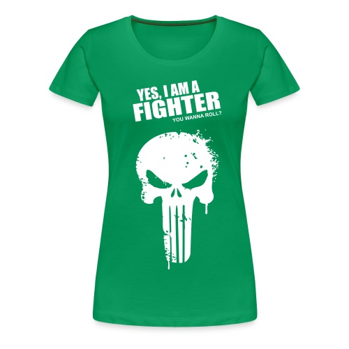 Punisher - Female - Women's Premium T-Shirt
