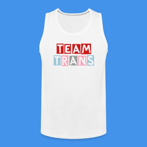 Team TRANS tank (white) - Men's Premium Tank