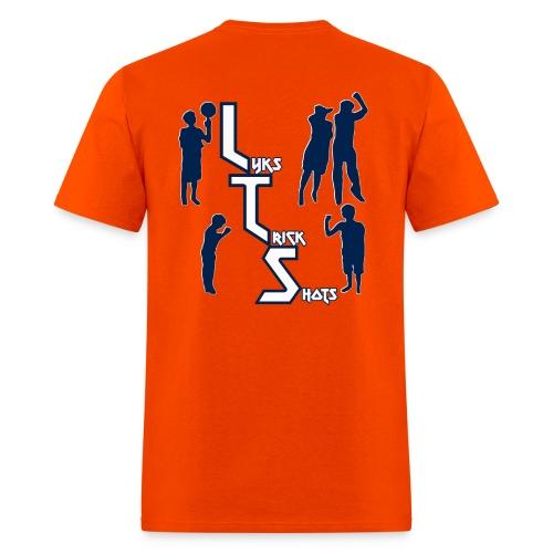 Lyks Orange T-Shirt - Men's T-Shirt