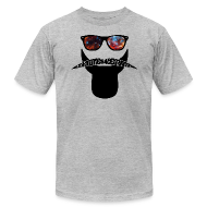 T-Shirts ~ Men's T-Shirt by American Apparel ~ Johannes Kepler hipster t shirt