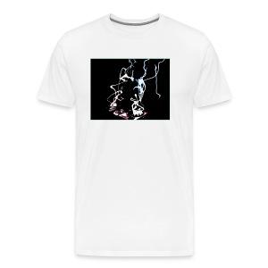 D.J. Lightning in Water Color - Men's Premium T-Shirt