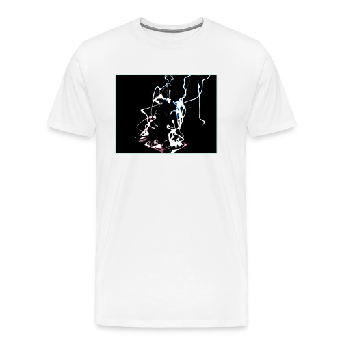D.J. Lightning in Water Color - Men's Premium T-Shirt