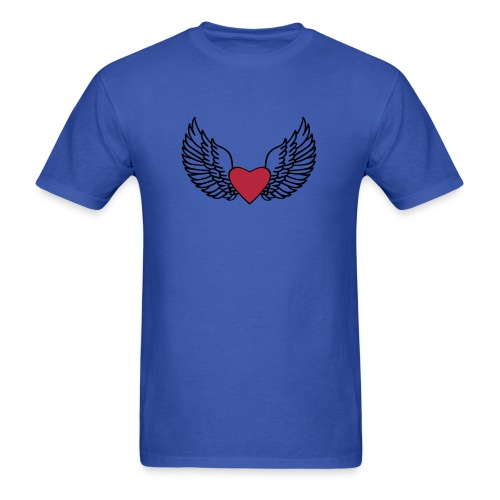 Winged Love - Men's T-Shirt