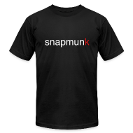 T-Shirts ~ Men's T-Shirt by American Apparel ~ Snapmunk Fitted T-Shirt