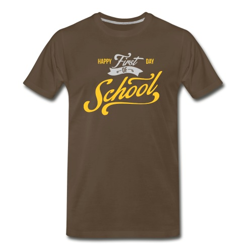 1st Day of School - Men's Premium T-Shirt