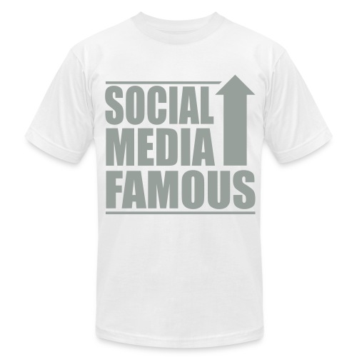 Social Media Famous Mens - Men's Fine Jersey T-Shirt