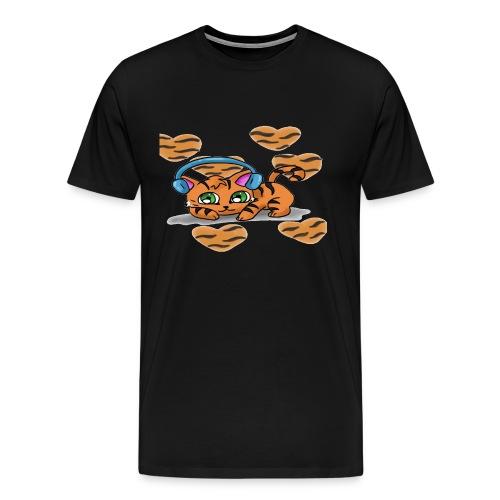 Tiger Love  - Men's Premium T-Shirt