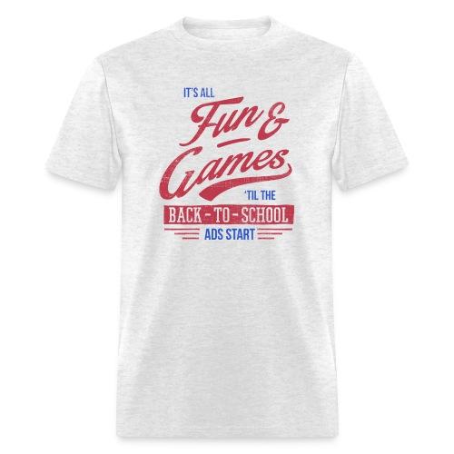 Back to School Ads - Men's T-Shirt