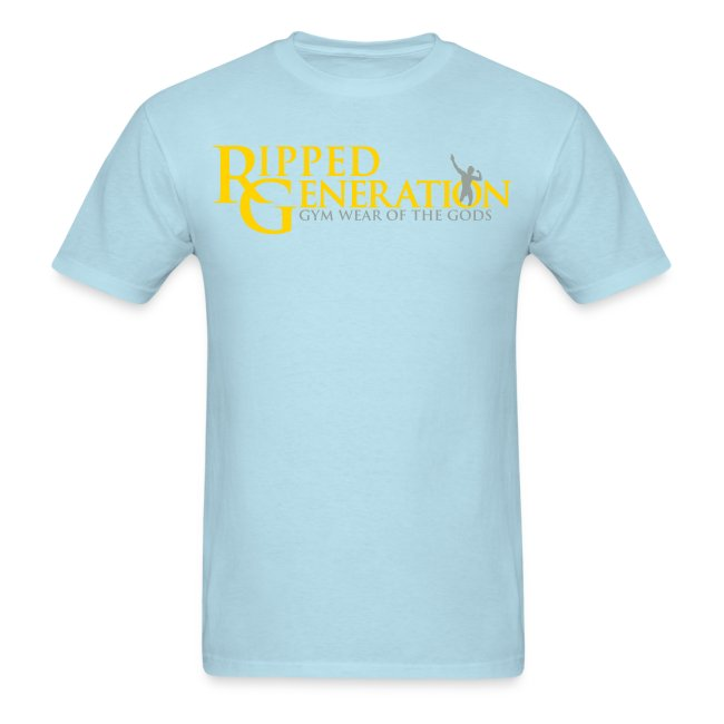 Ripped Generation Logo T-Shirt Gold