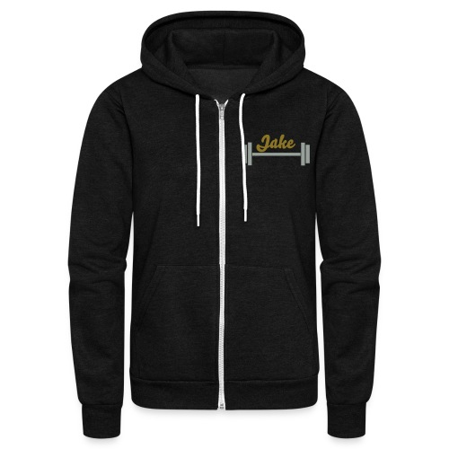Customizable full-zip hoodie - Unisex Fleece Zip Hoodie