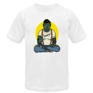 Rockabilly Buddha - Men's Fine Jersey T-Shirt