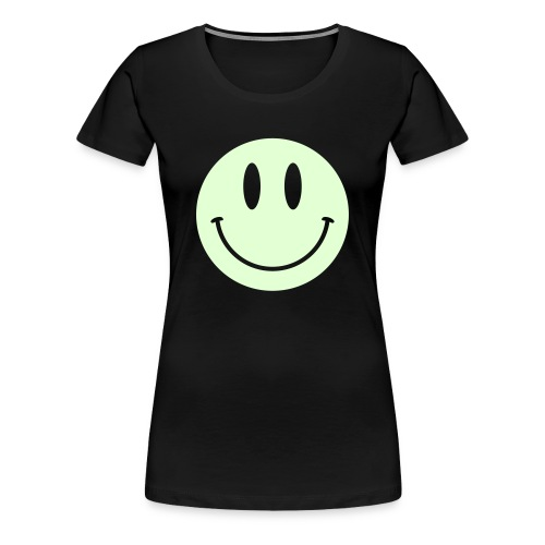 Smiley Glow Shirt - Women's Premium T-Shirt