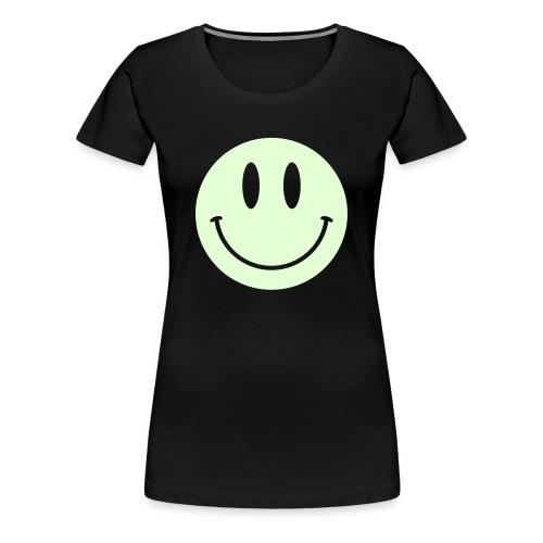 Smiley Glow Shirt - Women's Premium T-Shirt