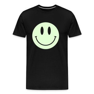 Smiley Glow Shirt - Men's Premium T-Shirt