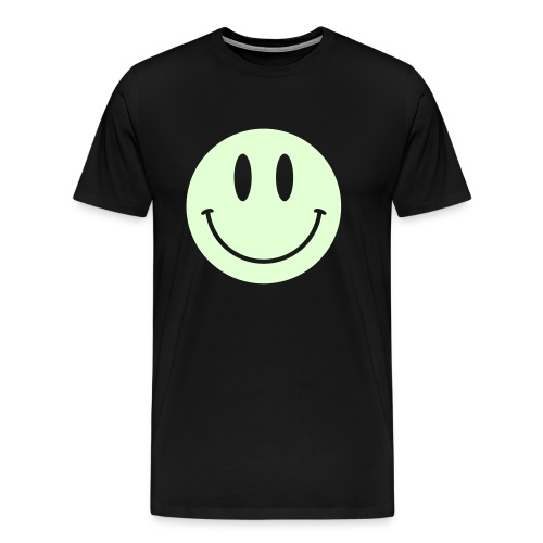 Smiley Glow Shirt - Men's Premium T-Shirt