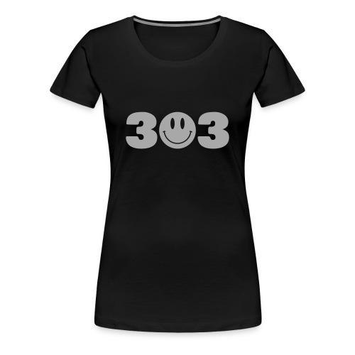 3O3 Silver Gliz Shirt - Women's Premium T-Shirt