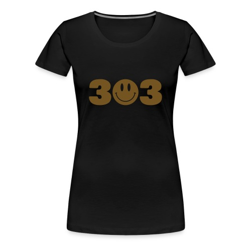 3O3 Gold Gliz Shirt - Women's Premium T-Shirt