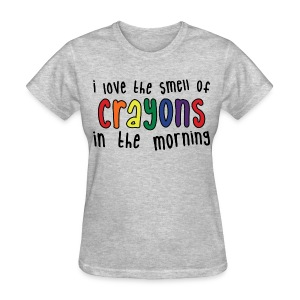Crayons Womens light - Women's T-Shirt