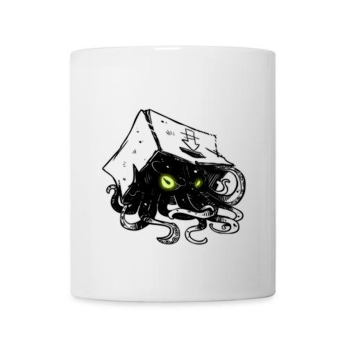 Squid In A Box Mug - White - Coffee/Tea Mug