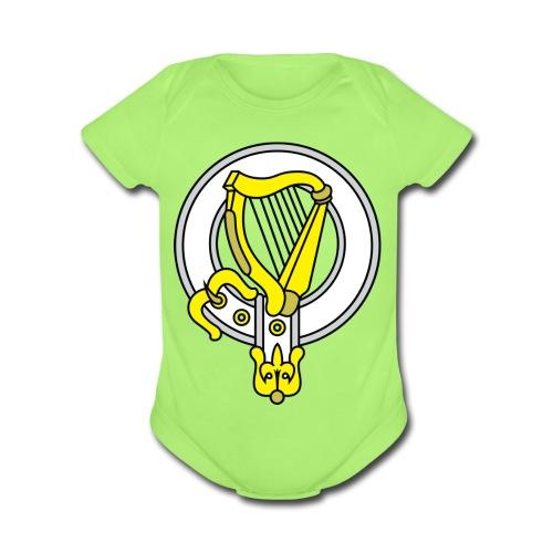 Gael Baby   - Organic Short Sleeve Baby Bodysuit