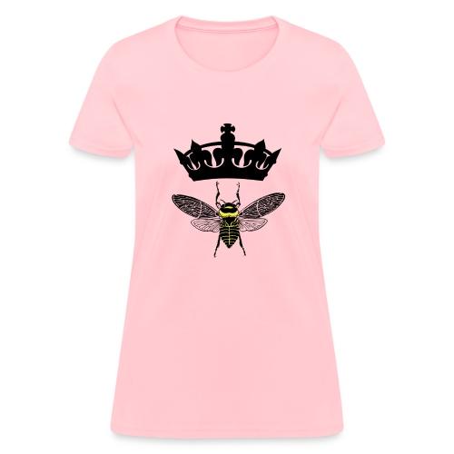 Queen Bee Ladies Tee - Women's T-Shirt