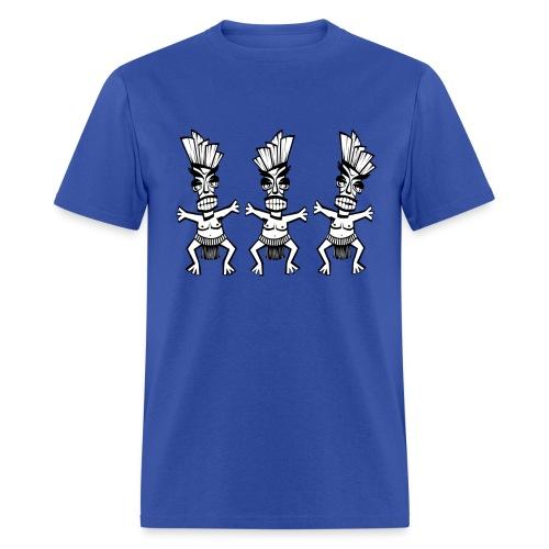 3 Natives in a Loincloth - Men's T-Shirt