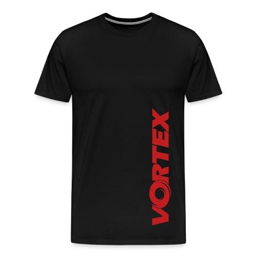 Vortex Vertical Tee - Men's Premium T-Shirt