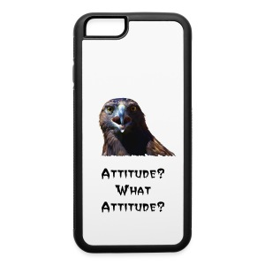 Screeching Juvenile Bald Eagle - iPhone 6/6s Rubber Case