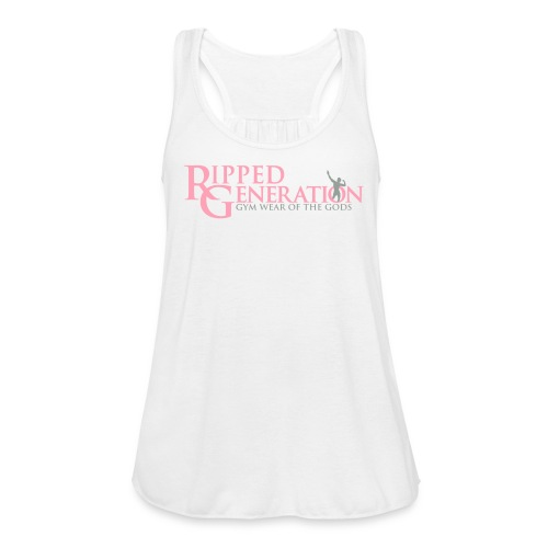 Ladies Flowy Tank Top Ripped Generation - Women's Flowy Tank Top by Bella