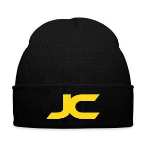 JC Logo Beanie - Knit Cap with Cuff Print