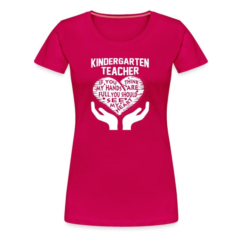 Kindergarten Teacher T Shirt Spreadshirt