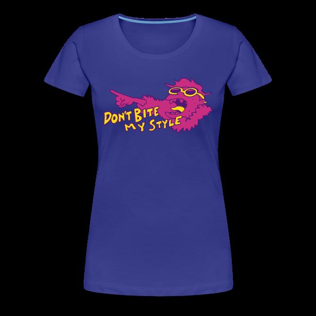Don't Bite My Style - Fuzzy - Pink - Ladies