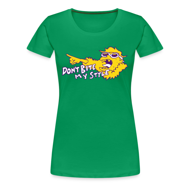 Don't Bite My Style - Fuzzy - Yellow - Ladies