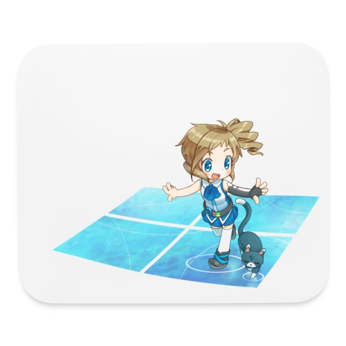 'Walking with Cats' Mousepad - Mouse pad Horizontal