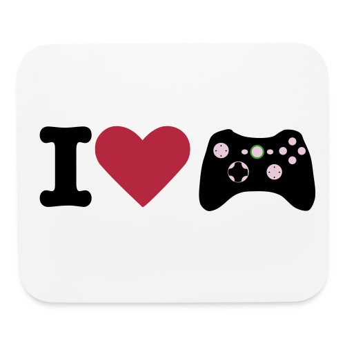 I Love Xbox Mouse Pad - Mouse pad Horizontal