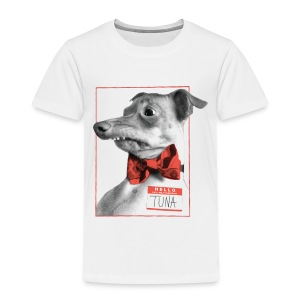 Hello. I will melt your heart. TUNA - Toddler Premium T-Shirt