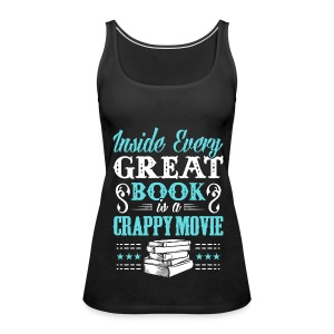 Inside Every Great Book - Tank - Women's Premium Tank Top
