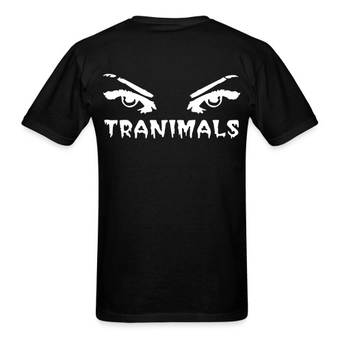 Tranimals T-shirt - Men's T-Shirt