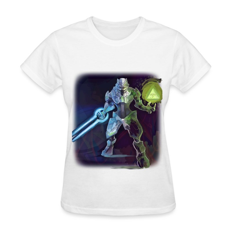 Illuminati Alien - Women's T-Shirt