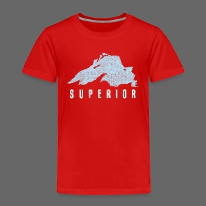 Lake Superior - Toddler Premium T-Shirt