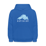Sweatshirts ~ Kids' Hoodie ~ Lake Superior