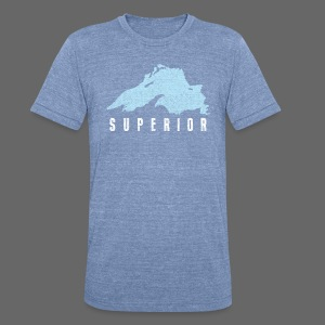 Lake Superior - Unisex Tri-Blend T-Shirt by American Apparel