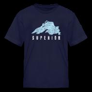 Kids' Shirts ~ Kids' T-Shirt ~ Lake Superior