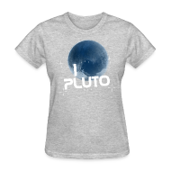 Women's T-Shirts ~ Women's T-Shirt ~ I Heart Pluto shirt