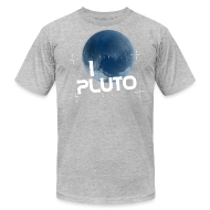 T-Shirts ~ Men's T-Shirt by American Apparel ~ I Heart Pluto shirt