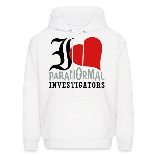 I Love Paranormal Investigators - Men's Hoodie