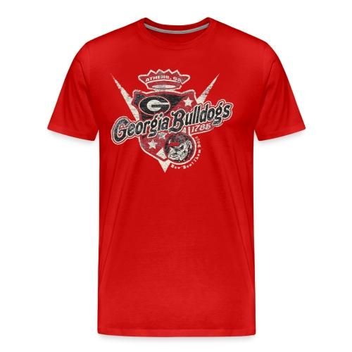Georgia Bulldog Retro - Men's Premium T-Shirt