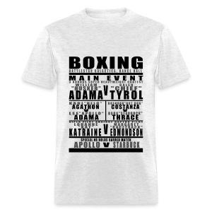 Battlestar Boxing Card Mens - Men's T-Shirt